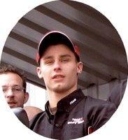 Jules Cluzel aux couleurs de Dafy pour la saison GP 2009.