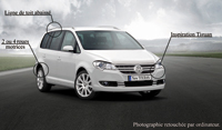 Un nouveau Volkswagen Touran pour 2009