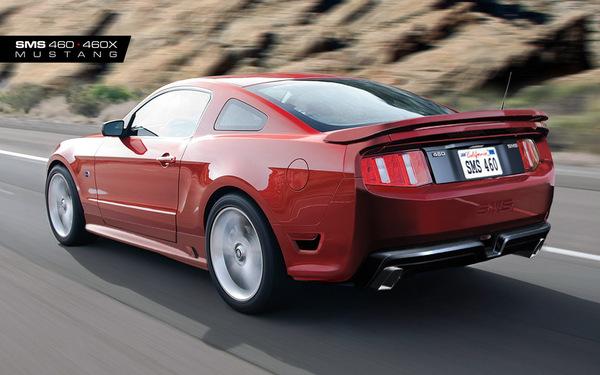SMS 460 : plus d'informations sur la nouvelle Ford Mustang par Saleen