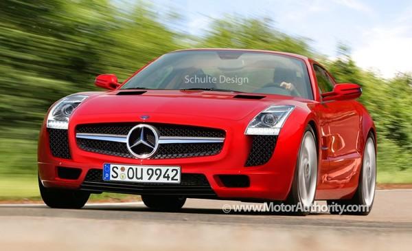 Mercedes SLS AMG : quasiment comme ça