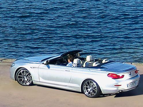 La future BMW Serie 6 cabriolet en photo sans aucun camouflage !