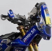 Dakar 2011 : La 450  d'Olivier Pain du Team Yamaha Racing France Ipone