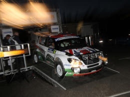 Skoda à la Race of Champions 2011