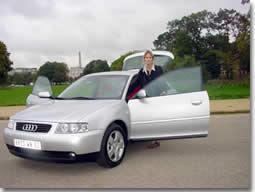 Audi A3 : une voiture très féminine