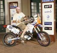 Dakar 2011 : Les 2 plus petites cylindrées en courses, une 150 2 temps et un 250 4 temps