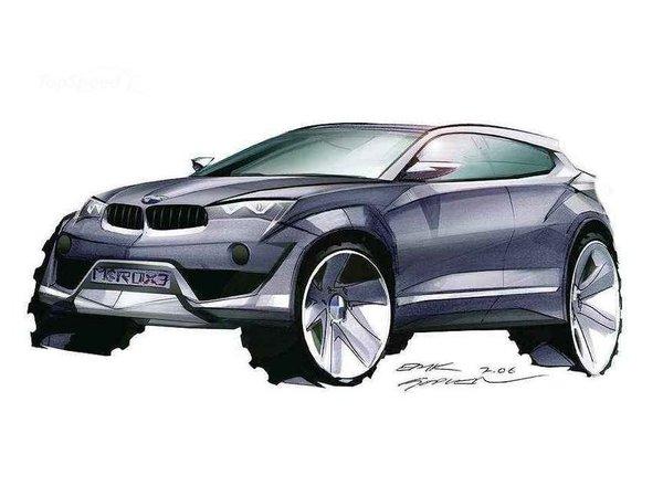 BMW X4 : le petit X6 pour 2013/2014