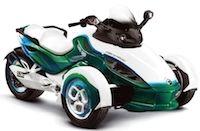 Un Can AM Spyder version hybride en approche?