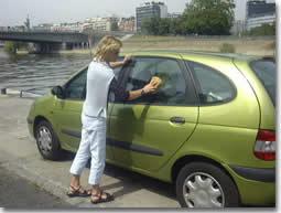 """""""Mes conseils pour bien laver   votre voiture"""""""