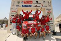 Rallye-raid: Lavieille titré avec Nissan