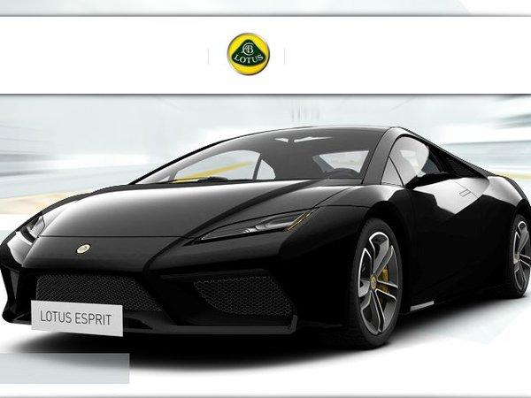 [vidéo] Lotus Esprit, black panther