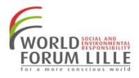 Lille : le 1er Forum mondial de l'économie responsable lancé aujourd'hui !