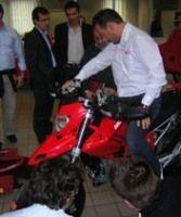 Ducati Hypermotard : C'est parti