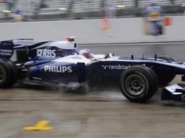 Williams est à 2 points du but