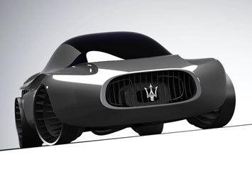 Design - Maserati Quattroporte 2030 Concept