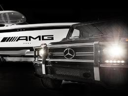 Insolite : un bateau à l'image du Mercedes Classe G AMG