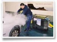 Autobella : avec Greenbox, un lavage auto à la vapeur !