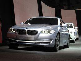 En direct du Mondial de Paris : le BMW Concept 5 Series ActiveHybrid