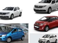 Que valent les cinq voitures les moins chères du marché ?