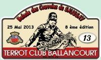 Le 25 mai:8ème édition de la Balade des Courroies du Saussay (91) par le Terrot Club de Ballancourt.
