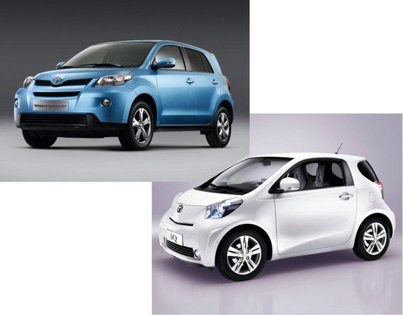 Toyota IQ et Urban Cruiser à Genève.