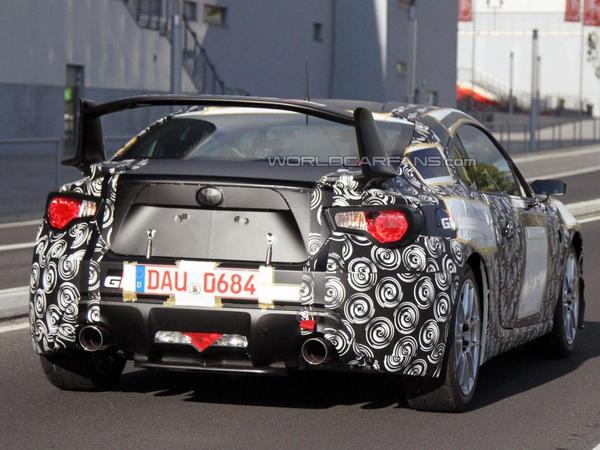 Surprise : la Toyota FT-86 en tenue de compétition Gazoo Racing