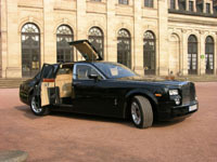 Rolls Royce Phantom par EDAG: une autre vision du confort à Genève