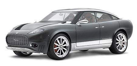 Futur Spyker D8 : avec le V8 6.2l 556 ch de la Cadillac CTS-V