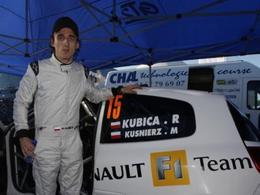 Rallye : Robert Kubica au Rallye d'Antibes