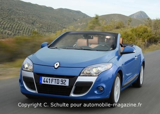 Renault viendra à Francfort avec la nouvelle Mégane CC