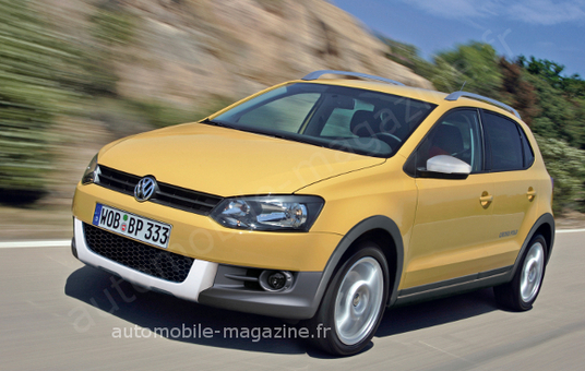 bient t la nouvelle volkswagen cross polo. Black Bedroom Furniture Sets. Home Design Ideas