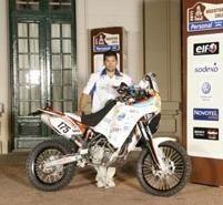 Dakar 2011 : 2 pilotes Argentins engagés par leur ville : José Maria Ezeiza