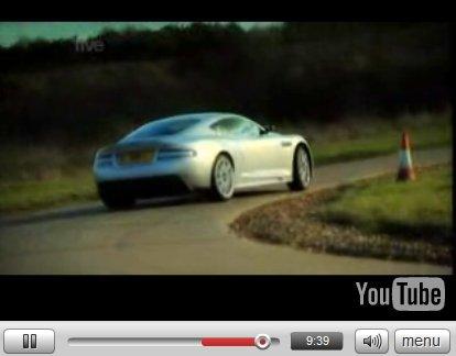 Vidéo Fifth Gear : Tiff défie James Bond en Aston Martin DBS
