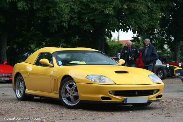 Photos du jour : Ferrari 550 Barchetta