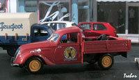 Miniature : 1/43ème - PEUGEOT 202 fourgonnette