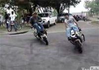 Vidéo moto : burn's style