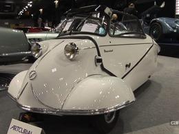 Vidéo Rétromobile 2013 - De 5000 € à plus de 1,5 million, les stars de la vente aux enchères
