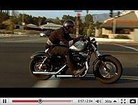 Harley-Davidson Forty-Eight : Le tour du proprio en vidéo