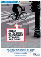 La sécurité routière s'occupe des Vélib'