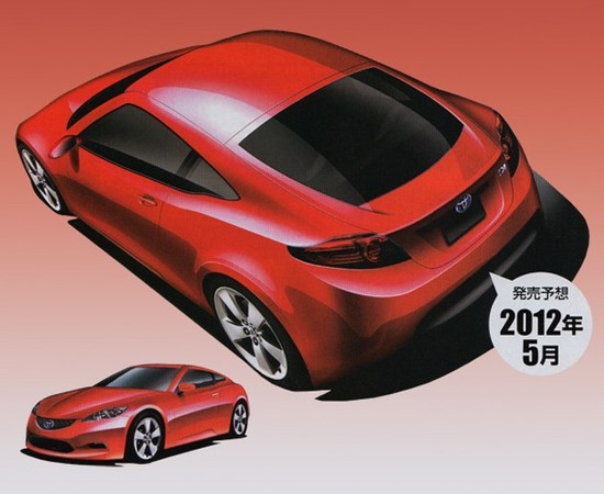 Future Toyota Prius coupé: comme ça?