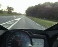 Vidéo moto : 300 km/h, le retour