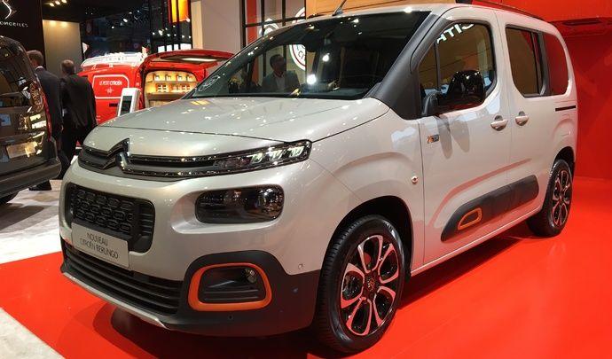 Citroën Berlingo : l'anti SUV - Vidéo en direct du Mondial 2018