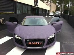 L'Audi R8 façon Louis Vuitton par Dartz