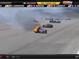 Indycar : Dan Wheldon se tue en course