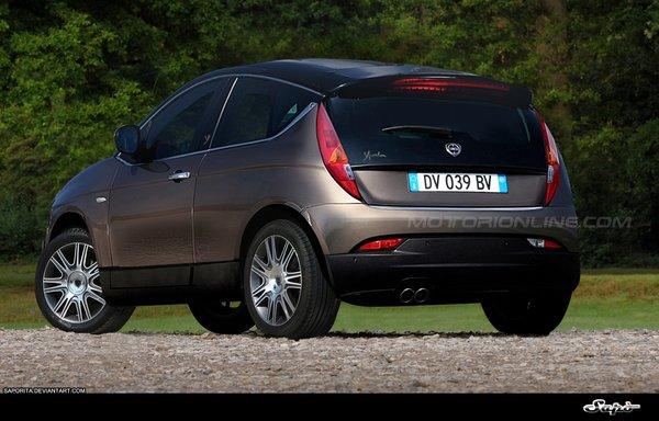Future Lancia Ypsilon: comme ça?