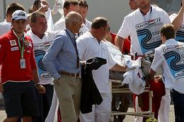 F1 Hongrie : fracture du crâne et commotion cérébrale pour Massa