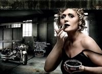 Calendrier 2009 Harley-Davidson : Chaude ambiance...