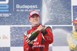 GP2 Hongrie Course 1 : Hulkenberg en patron