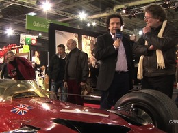 Vidéo Rétromobile 2013 - Une monoplace à 10 millions de livres chez Hall and Hall