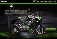 Kawasaki lance un site dédié à la Z800