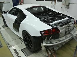 DM Performance colle un compresseur à l'Audi R8 V10